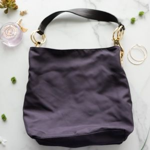 JPK Paris 75 Bucket Nylon shoulder back purple